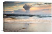 Talisker bay Sunset, Canvas Print