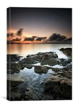 Morar Sunset, Canvas Print