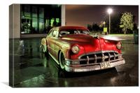 Pontiac 1950, Canvas Print
