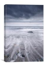 West coast seascape, Canvas Print