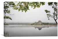 Loch Awe Mist, Canvas Print