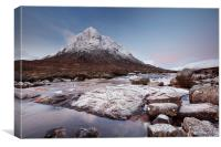 Glencoe Mountain Sunrise, Canvas Print