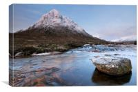 Buachaille Etive Mor Sunrise, Canvas Print