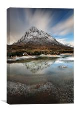 Buachaille reflection, Canvas Print