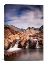 Ghost of the Fairy Pools, Canvas Print