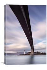 Neath the Skye Bridge, Canvas Print