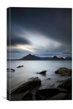 Elgol Portrait, Canvas Print