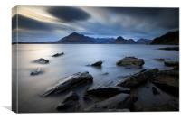 Rocky Shore of Elgol, Canvas Print