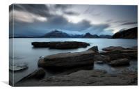 Skye Rocks, Canvas Print