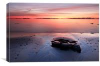 Kintyre Coastal Sunset, Canvas Print