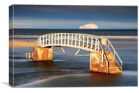 Belhaven Stairs, Canvas Print