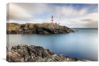 Eilean Glas lighthouse, Canvas Print