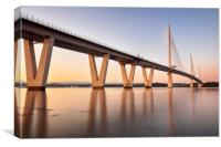 Queensferry Crossing Sunset, Canvas Print