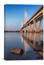 Queensferry Crossing 5, Canvas Print