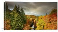 Killiecrankie Autumn, Canvas Print