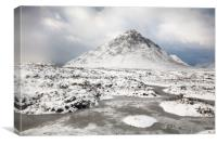 Etive Mor Winter, Canvas Print
