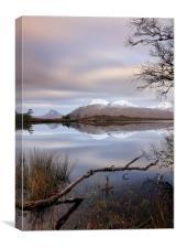 Loch Cul Dromannan, Canvas Print