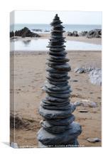 Rock pile, Canvas Print