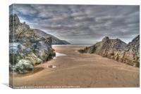 Putsborough Sands, Canvas Print