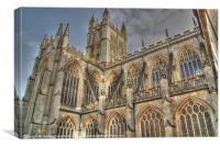 Bath Abbey, Canvas Print