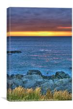 Sunset Waters, Canvas Print