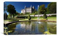 Dunrobin Castle - Scotland, Canvas Print