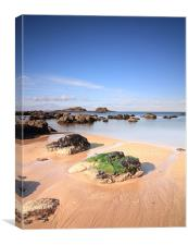 Yellowcraigs, Canvas Print