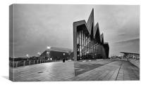 Glasgow Riverside Transport Museum, Canvas Print