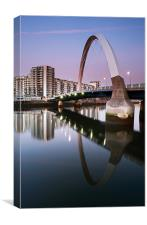 Clyde Arc Sunset, Canvas Print