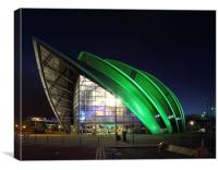 Glasgow Clyde Auditorium, Canvas Print