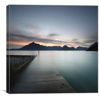 Elgol at Sunset, Canvas Print
