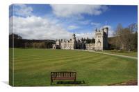 Balmoral Castle, Canvas Print
