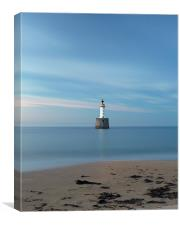 Rattray Head Lighthouse at Sunset, Canvas Print