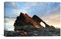 Bow Fiddle Rock at Sunrise, Canvas Print