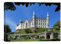 Dunrobin Castle and Garden, Canvas Print