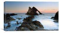 Bow Fiddle Rock at Sunset, Canvas Print