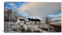 Blackrock Cottage in Winter, Canvas Print