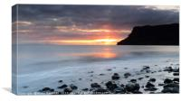 Talisker at Sunset, Canvas Print