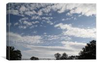 cloud, Canvas Print