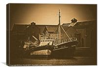 Fishing Trawler - Grimsby, Canvas Print