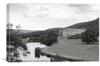 Chatsworth House - Derbyshire, Canvas Print