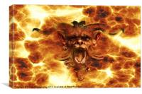 The Devil From Hell, Canvas Print
