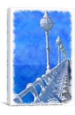 Boardwalk Pier, Canvas Print