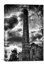 Tribute to Coal Miners, Canvas Print