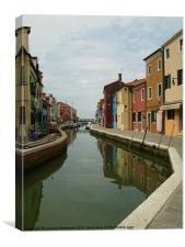 BURANO in VENICE, Canvas Print