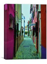 BURANO, Canvas Print