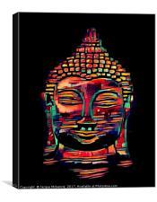 RADIANT BUDDHA, Canvas Print