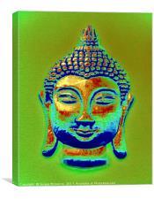 BUDDHA GLOW, Canvas Print