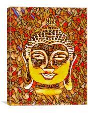 BUDDHA NOUVEAU, Canvas Print