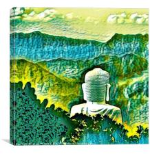 BA NA BUDDHA , Canvas Print